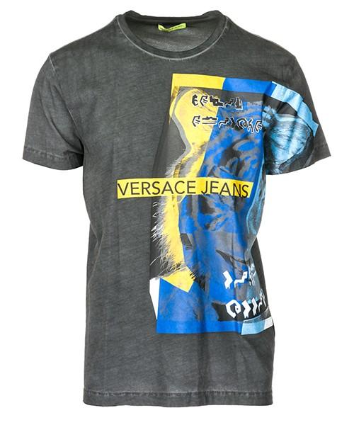 T-shirt Versace Jeans B3GSA73G nero