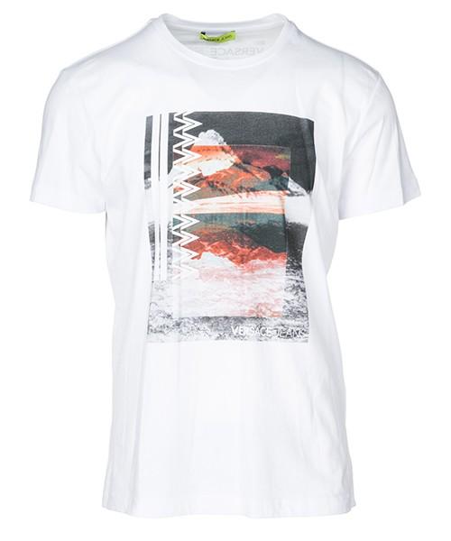 T-shirt Versace Jeans B3GSA73K bianco
