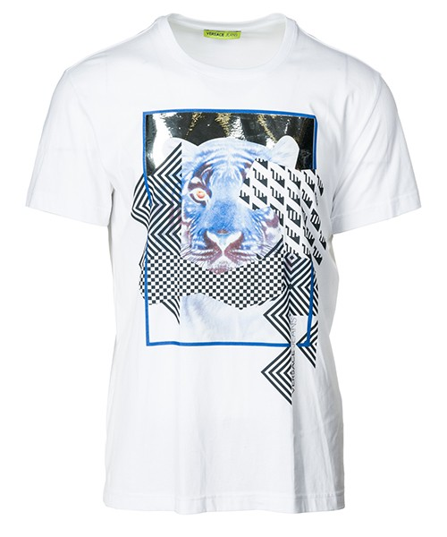 T-shirt Versace Jeans B3GSA76K bianco