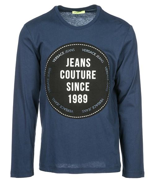 T-shirt manche longue Versace Jeans B3GSB74B blu