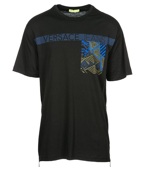 T-shirt Versace Jeans B3GSB74F nero