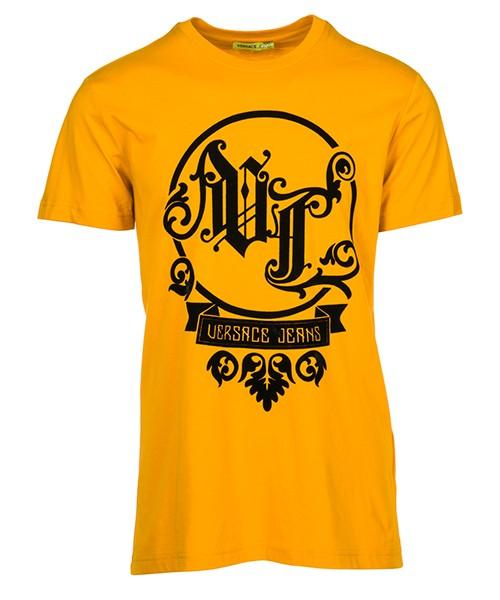 T-shirt Versace Jeans B3GSB76Q giallo