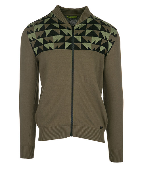Maglione Versace Jeans B5GRA807 verde