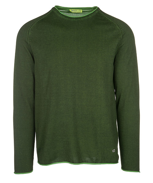 Maglione Versace Jeans B5GRB814 verde