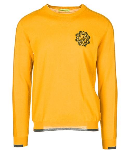 Poncho Versace Jeans B5GSA833 giallo