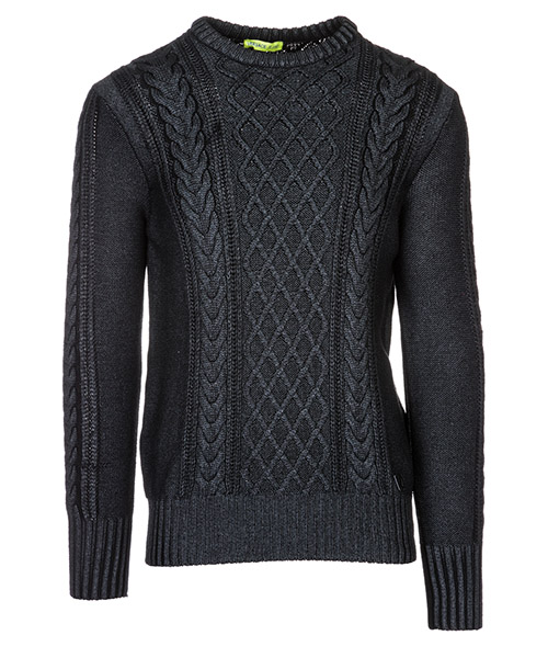 Maglione Versace Jeans B5GSA835 nero