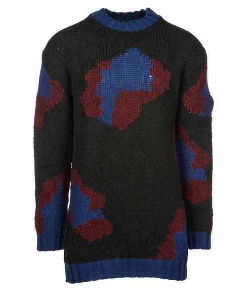 свитер мужской с круглым воротом