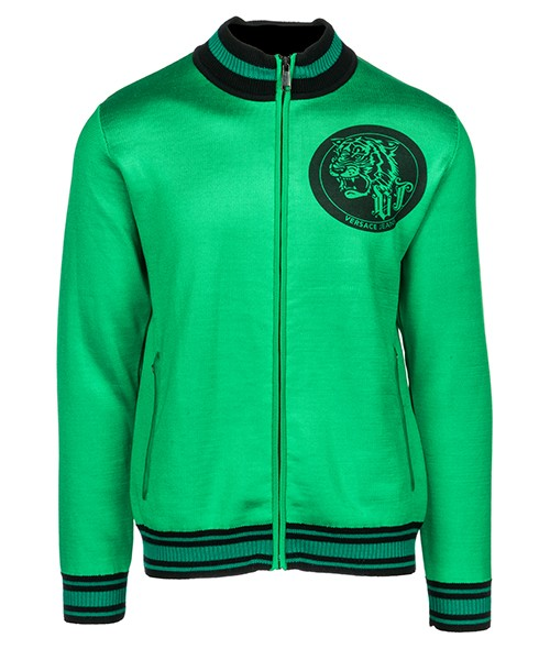 Maglione Versace Jeans B5GSB810 verde