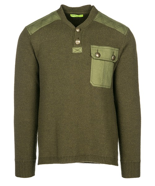 Maglione Versace Jeans B5GSB812 verde