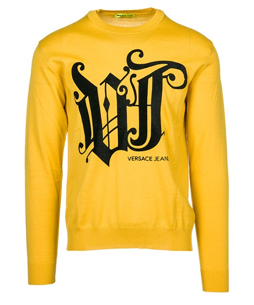 Pullover Versace Jeans B5GSB824 giallo