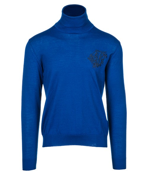 Pullover Versace Jeans B5GSB829 blu