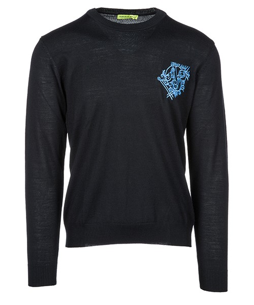 Pullover Versace Jeans B5GSB831 nero