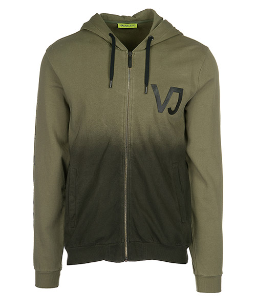Kapuzensweatshirt Versace Jeans B7GRA7FS verde