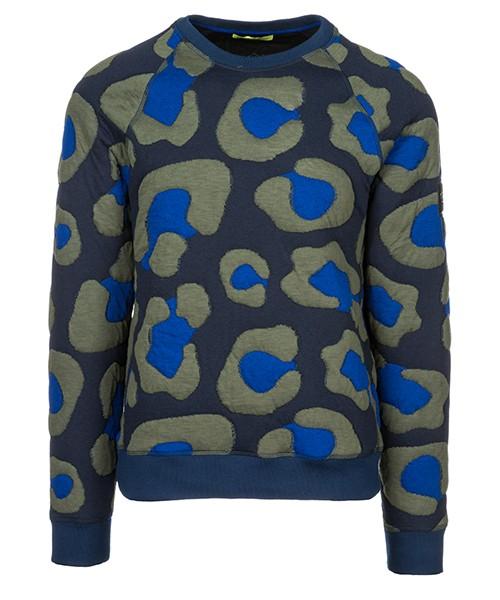Felpa Versace Jeans B7GSB704 blu