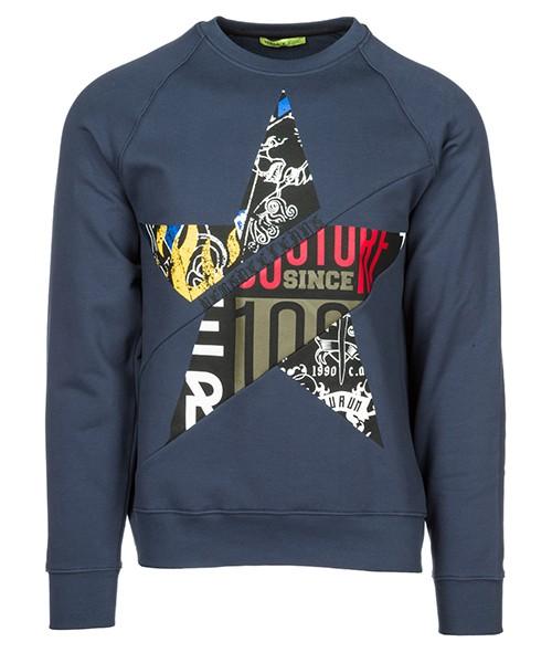 Felpa Versace Jeans B7GSB7F5 blu