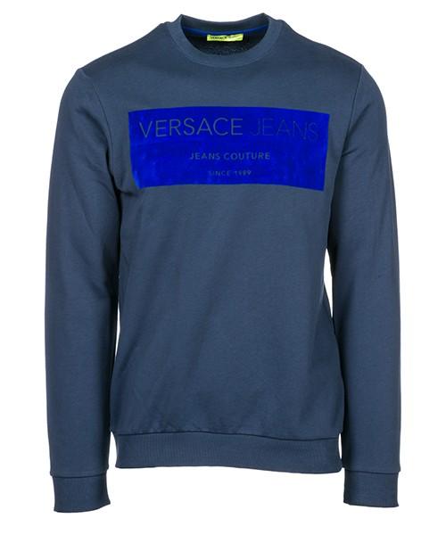 Felpa Versace Jeans B7GSB7F6 blu