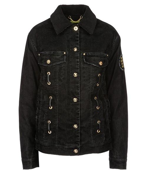 Chaqueta de mezclilla Versace Jeans C0HSB927 nero