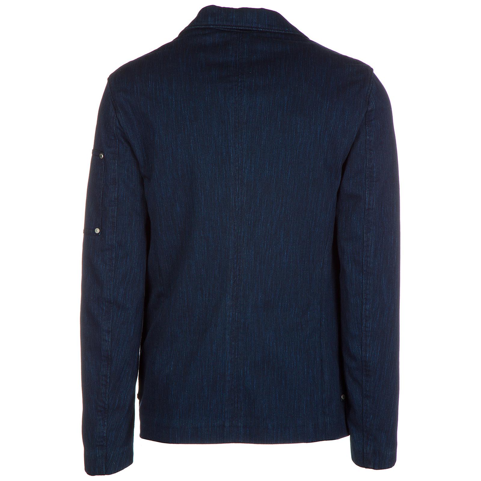 Veste Versace Jeans Cgqb502 Qum702 Blu Frmoda Com