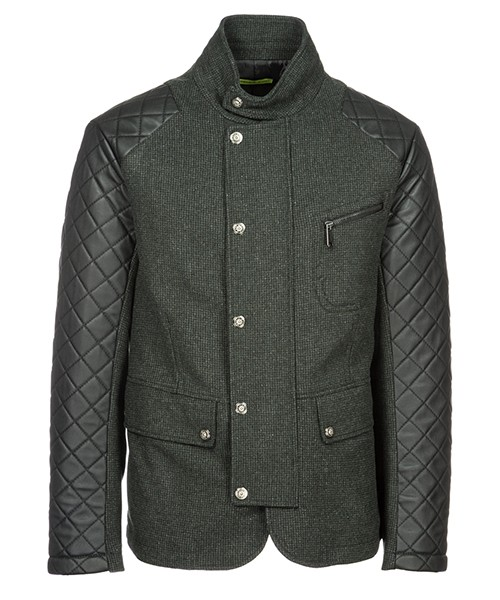 Верхняя одежда блузон Versace Jeans C3GSB500 grigio