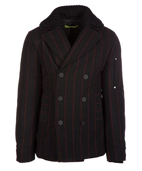 Coat Versace Jeans C5GQB926 QUM416 nero