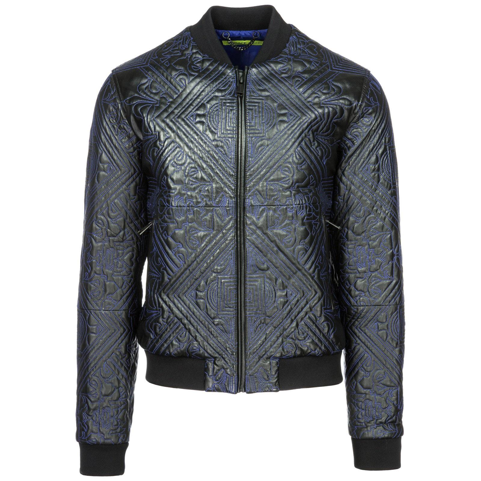 4f69fdc9e39c Veste en cuir Versace Jeans ECGSB9P6 nero   FRMODA.com