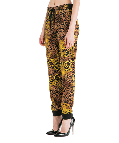 Pantaloni tuta donna fashion  leo baroque secondary image