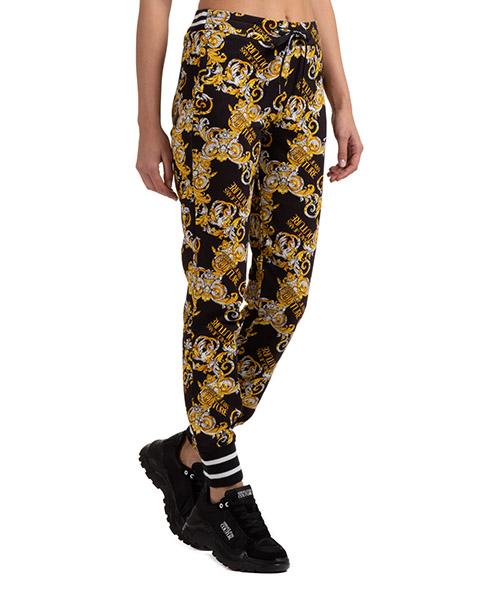 Tracksuit bottoms Versace Jeans Couture baroque EA1HZA150-ES0830_E899 nero