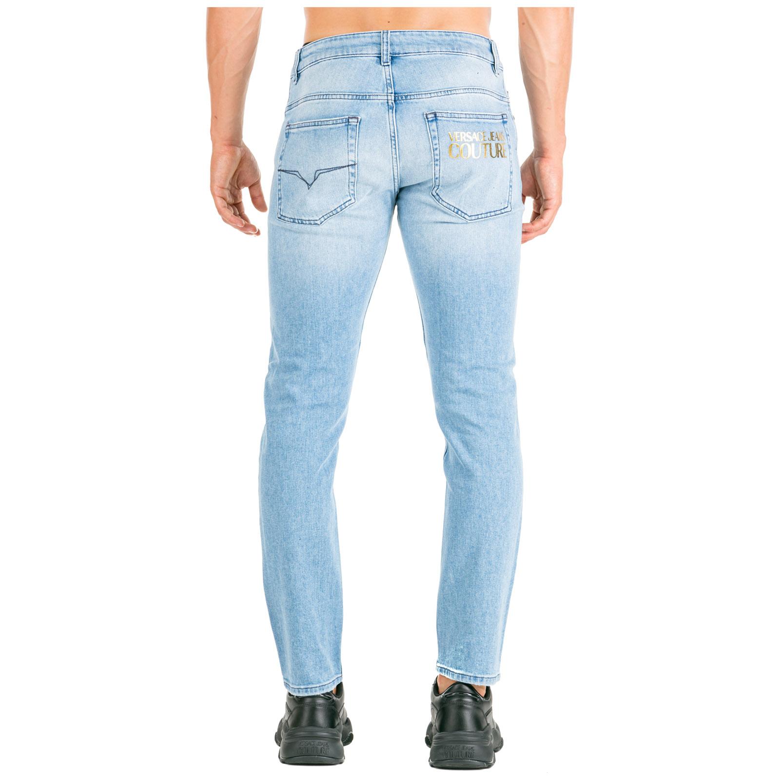 Vaqueros Versace Jeans Couture Ea2gua0dm E60513 E904 Blu Frmoda Com
