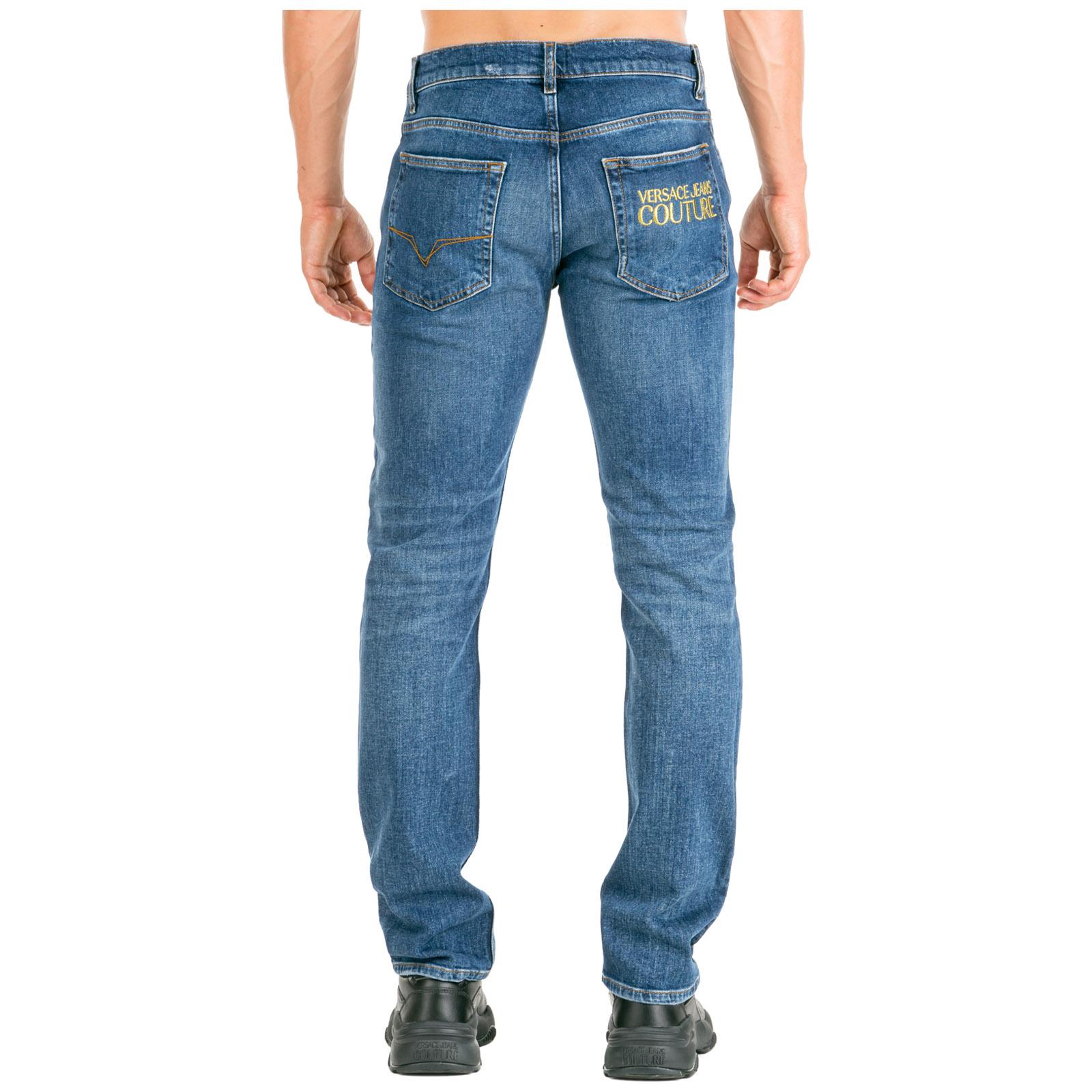 Vaqueros Versace Jeans Couture Ea2gua0sn E60511 E904 Blu Frmoda Com