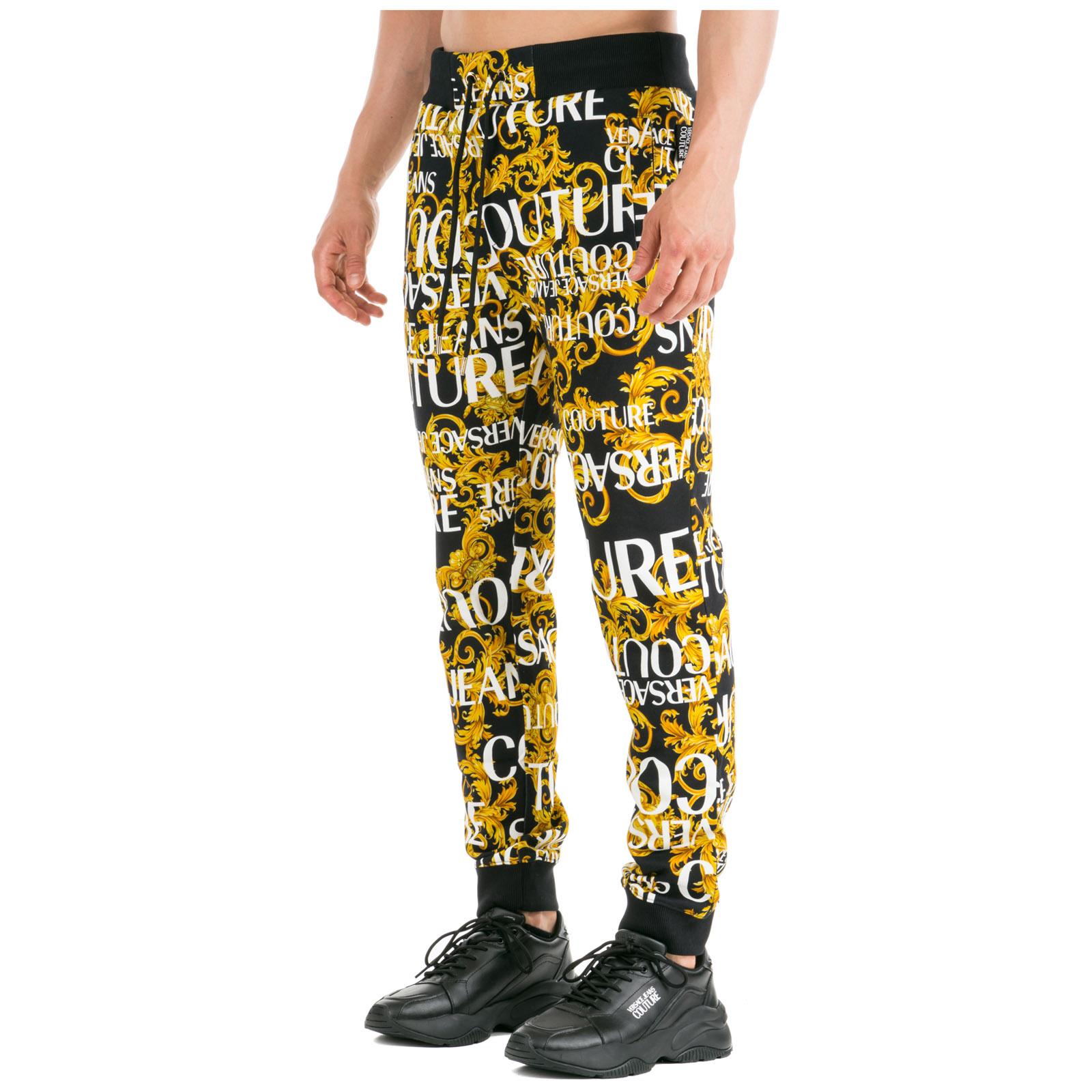 fe1d0d6cad Pantaloni tuta uomo logo baroque