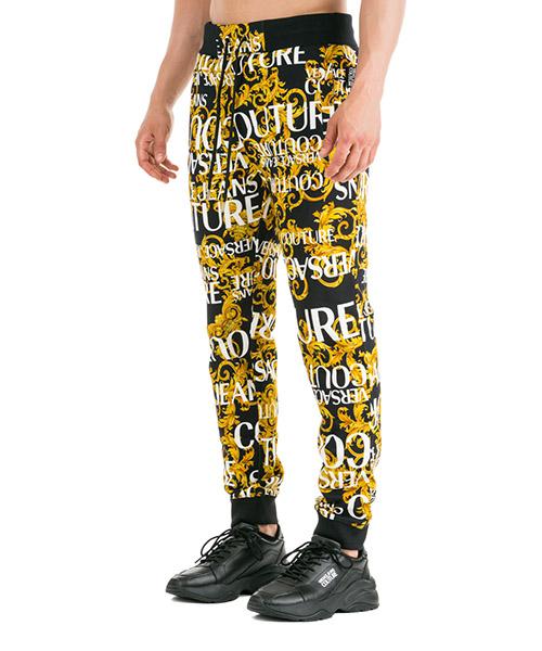 Men's sport tracksuit trousers logo baroque secondary image