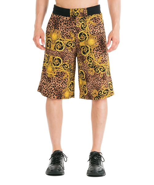 Shorts Versace Jeans Couture Leo Baroque EA4GUA12-E5S0594_E923 marrone