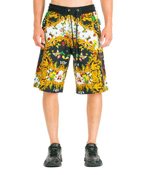 Shorts Versace Jeans Couture Ladybug Baroque EA4GUA1FX-E30218_E899 nero