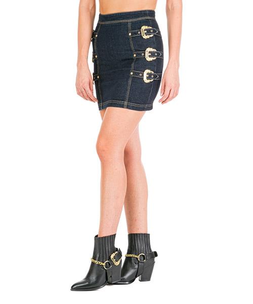 Mini skirt Versace Jeans Couture EA9HUA301-EALK3M_E912 blu