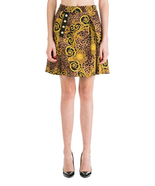 Faldas Versace Jeans Couture Leo Baroque EA9HUA312-ES0594_E923 nero