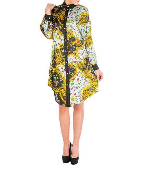 Chemise Versace Jeans Couture ladybug baroque eb0hua610-es0535_e112 nero