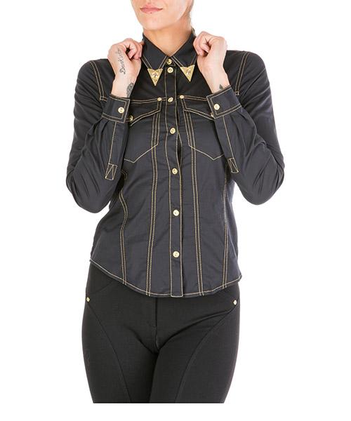 Chemise Versace Jeans Couture eb0hua616-e08799_e899 nero