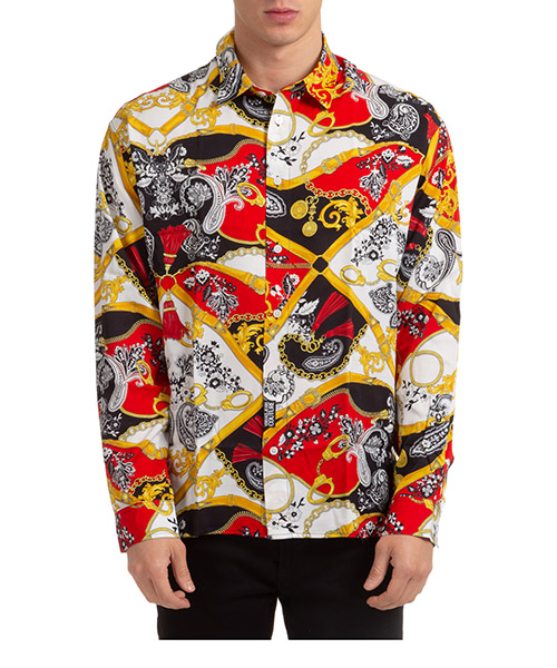 Shirt Versace Jeans Couture EB1GZA604-ES0827_E500 rosso