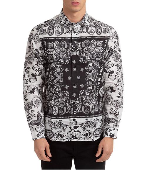 Shirt Versace Jeans Couture EB1GZA6R2-ES0859_E003 bianco