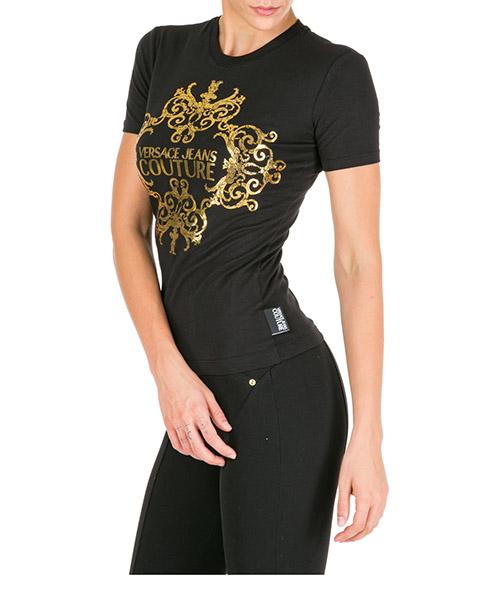 T-shirt Versace Jeans Couture eb2hua7ae-e30215_e899 nero