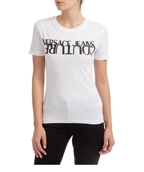 T-shirt Versace Jeans Couture EB2HZA7KB-E30327_E003 bianco