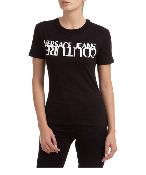 T-shirt Versace Jeans Couture EB2HZA7KB-E30327_E899 nero