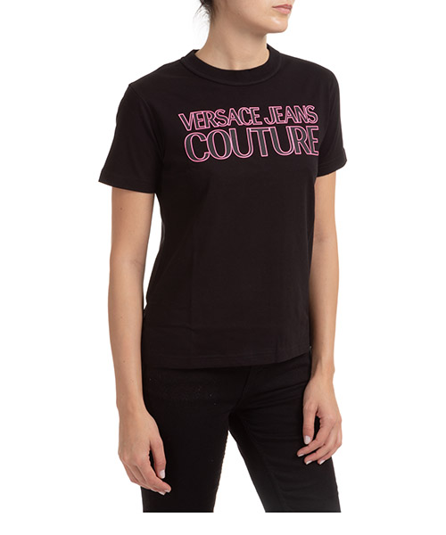 T-shirt Versace Jeans Couture EB2HZA7KF-E30327_E899 nero