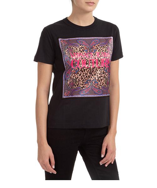 T-shirt Versace Jeans Couture EB2HZA7VB-E30331_E899 nero