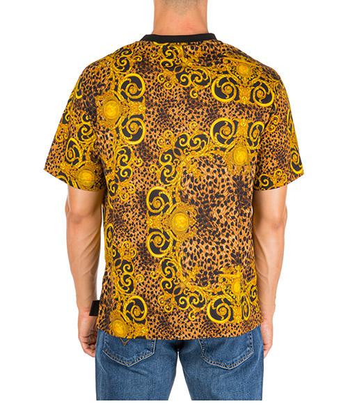 Camiseta de manga corta cuello redondo hombre leo baroque etichetta secondary image