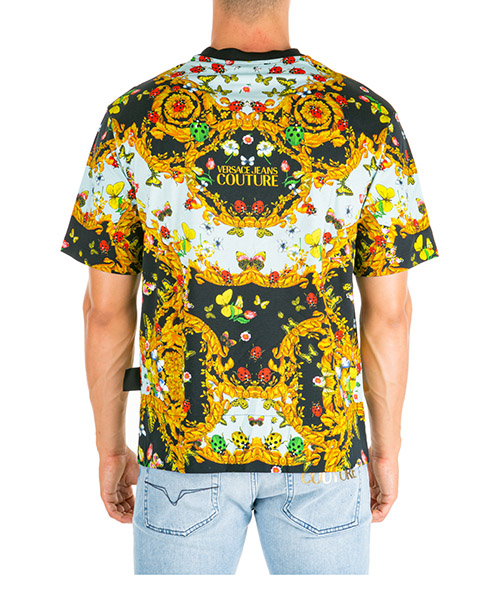 Men's short sleeve t-shirt crew neckline jumper ladybug baroque secondary image