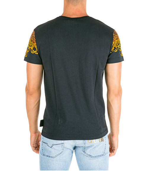 Men's short sleeve t-shirt crew neckline jumper leo baroque secondary image