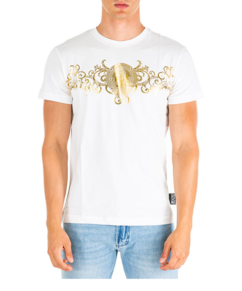 T-shirt Versace Jeans Couture EB3GUA7EB-E30195_E003 bianco