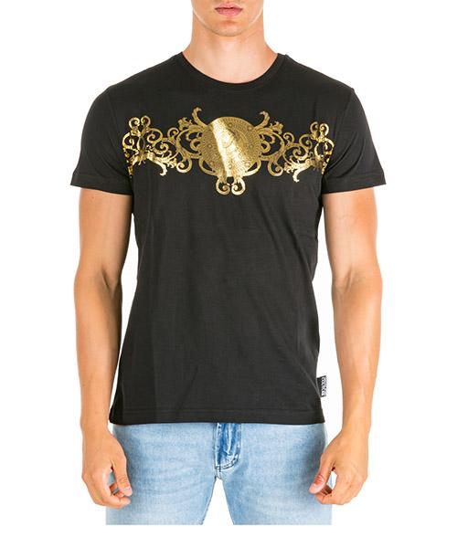 T-shirt Versace Jeans Couture adriano eb3gua7eb-e30195_ey6a nero