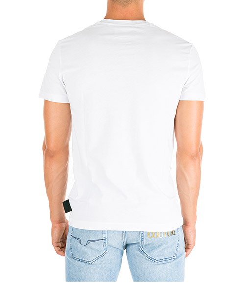 Men's short sleeve t-shirt crew neckline jumper slim fit secondary image